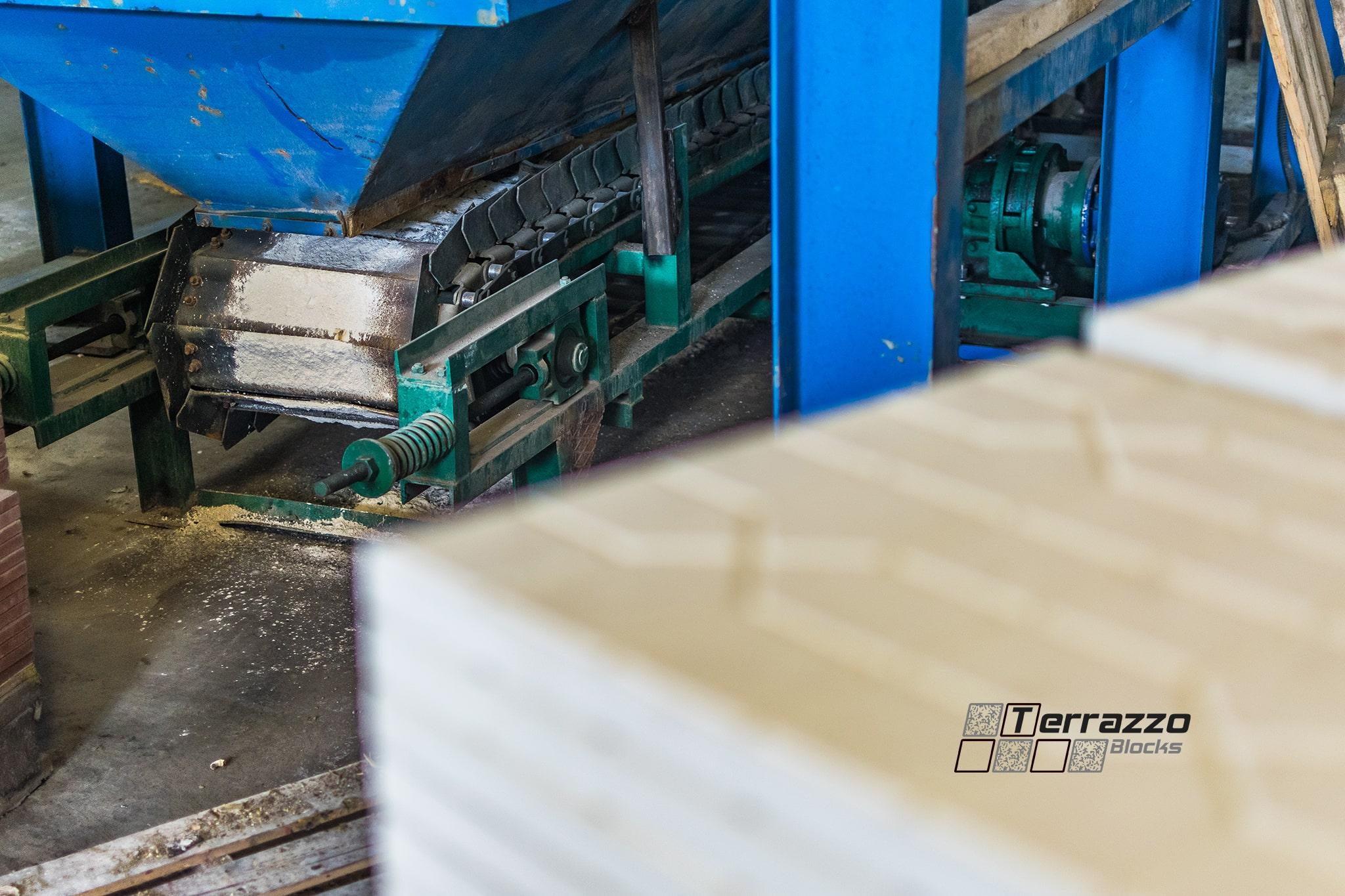 Производство плитки терраццо