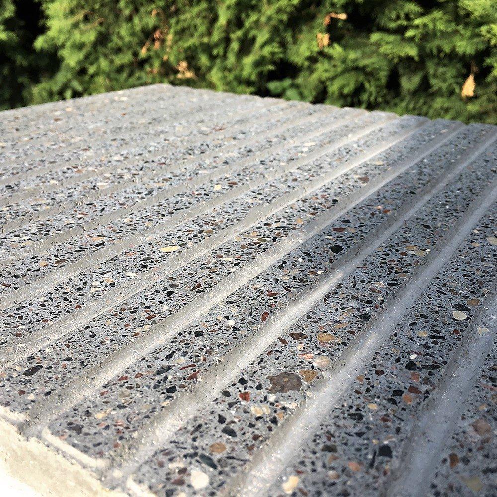 Образец плитки Терраццо Anti-Rain 1 - приближенный вид в сухом состоянии
