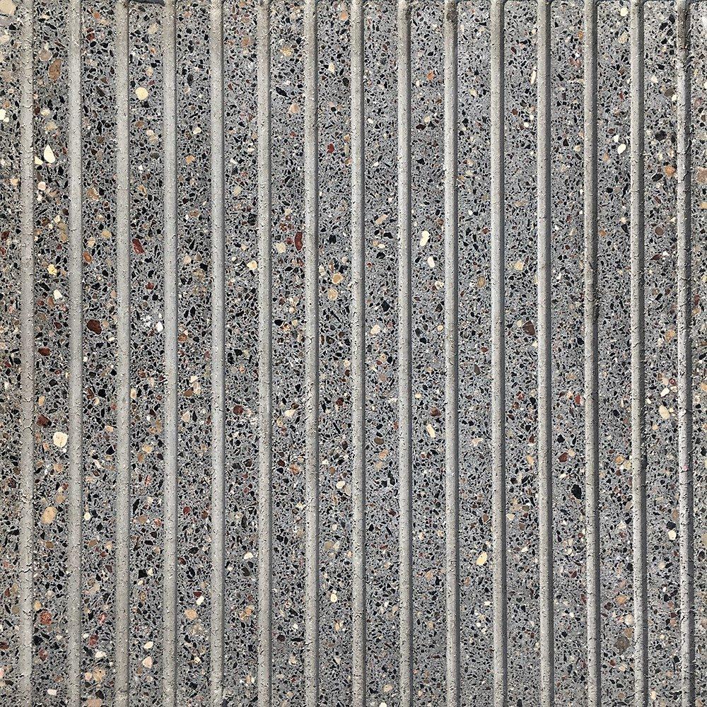 Образец плитки Терраццо Anti-Rain 1 - вид сверху в сухом состоянии