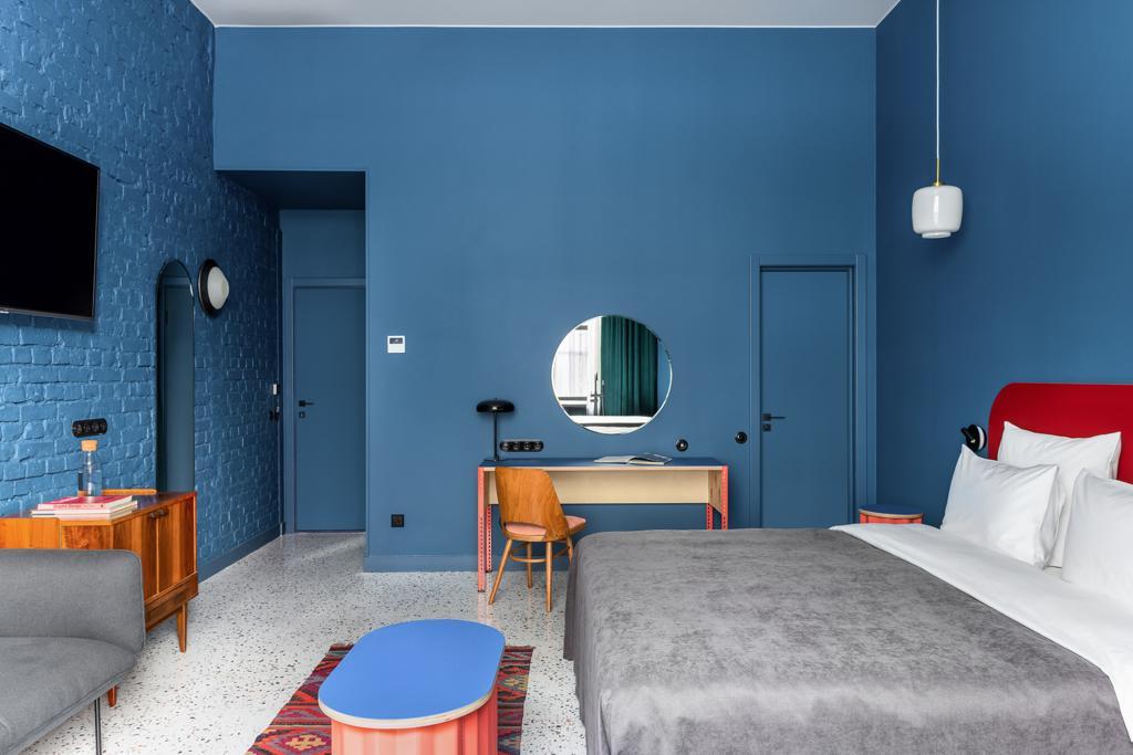 Выполненный проект с использованием мозаичной плитки терраццо | Отель P17