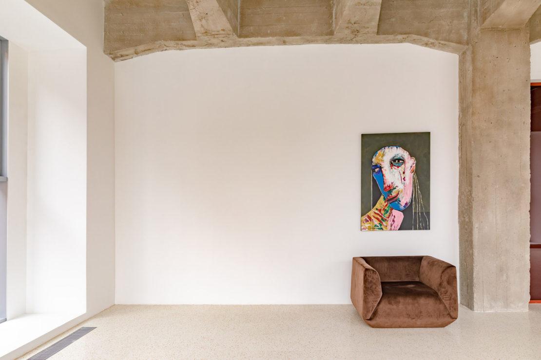 Выполненный проект с использованием мозаичной плитки терраццо | Фотостудия Whitestudios зона Super White Y